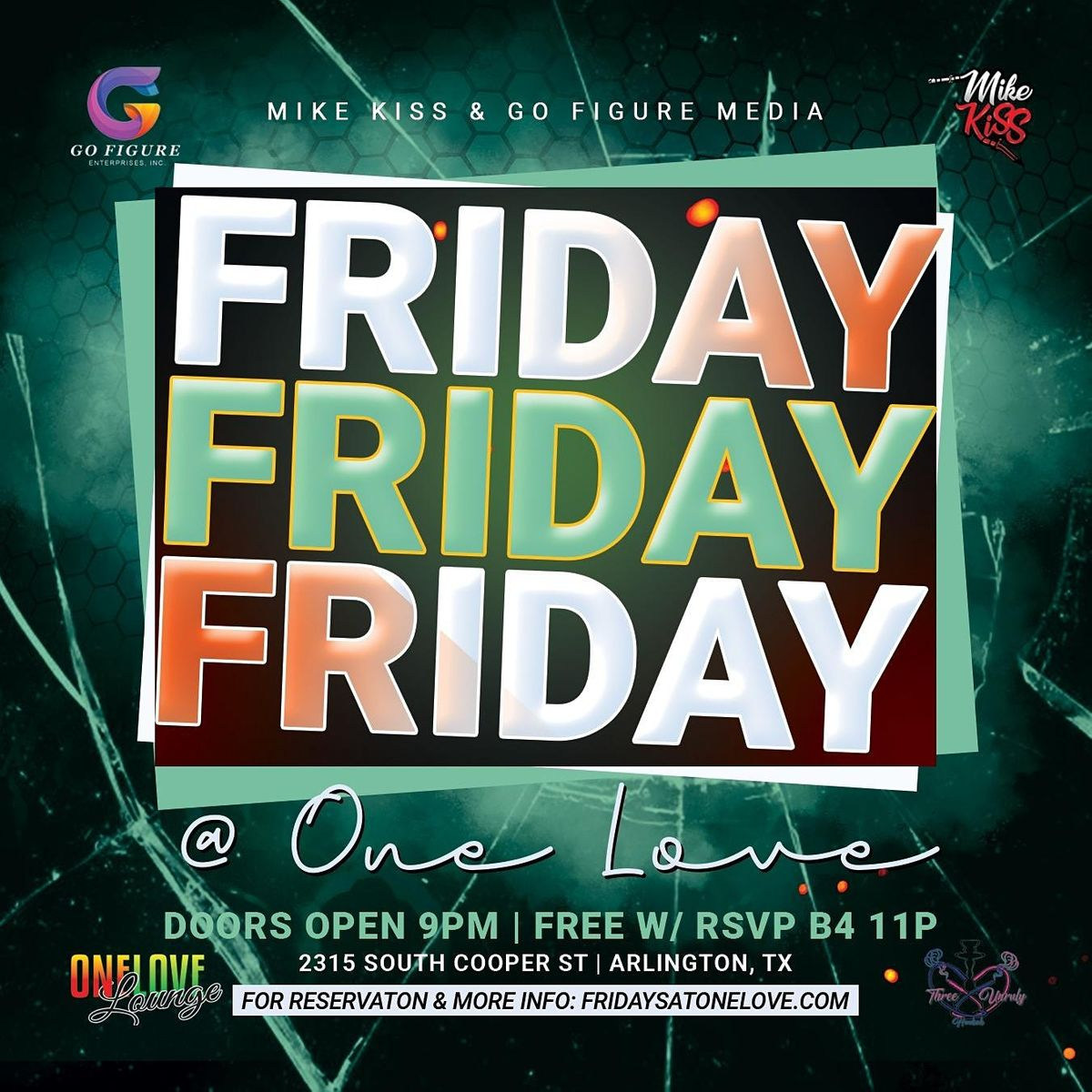 Fridays @ One Love!   Event in Arlington   AllEvents.in
