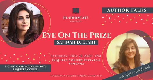 Author Talks - Eye on the Prize, 28 November   Event in Karachi   AllEvents.in