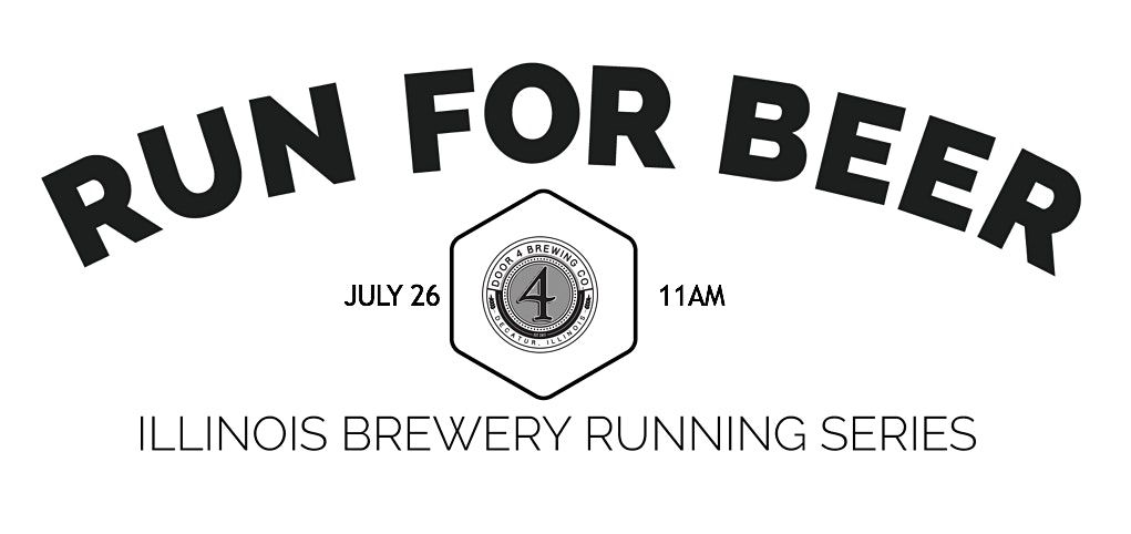 Beer Run -Door 4 Brewing  Part of the 2020 Illinois Brewery Running Series