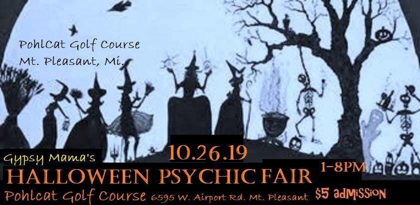 GMPF's Halloween Psychic Fair-Mt  Pleasant