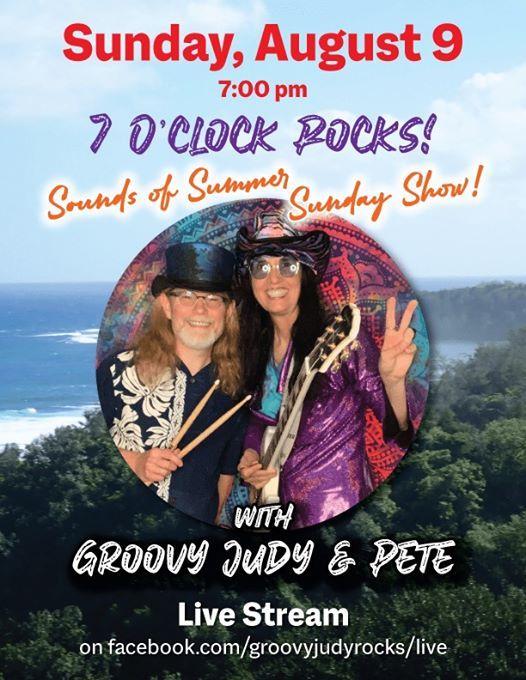 7 OClock Rocks Groovy Judy & Pete Sounds of Summer