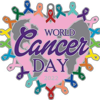 World Cancer Day 1M 5K 10K 13.1 26.2-Save 2