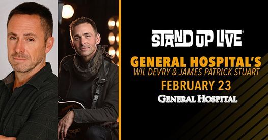 General Hospitals Wil Devry & James Patrick Stuart