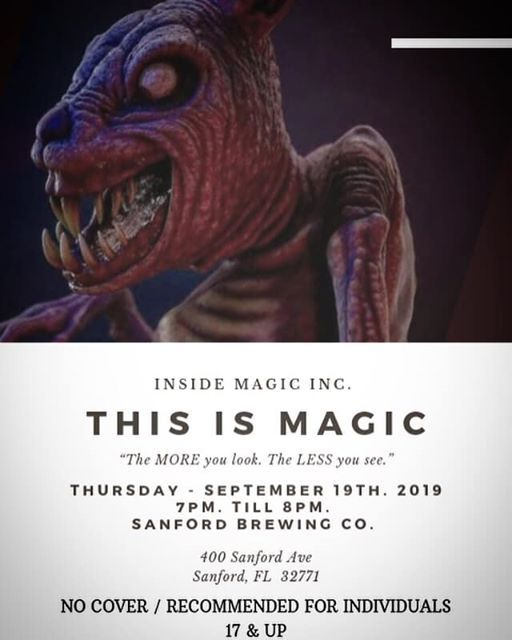 Inside Magic Inc  - Events in Sanford | Get Tickets on