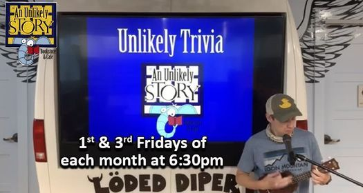 Unlikely Trivia In-Person Advanced Registration Required, 15 October | Event in Plainville | AllEvents.in