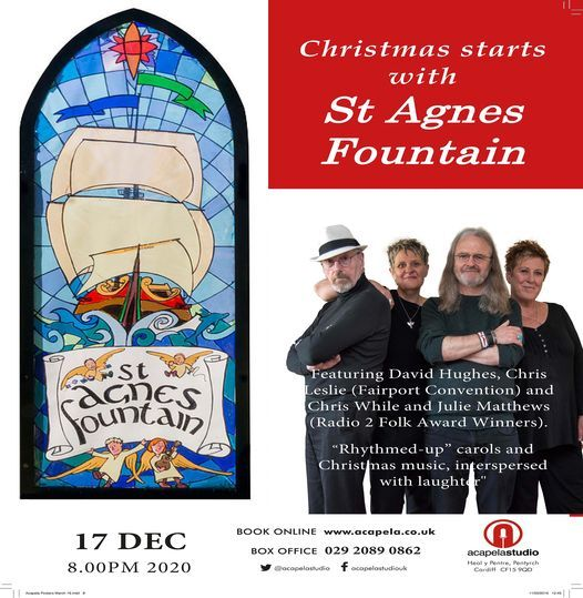 St Agnes Fountain Christmas Concert, 17 December | Event in Cardiff | AllEvents.in