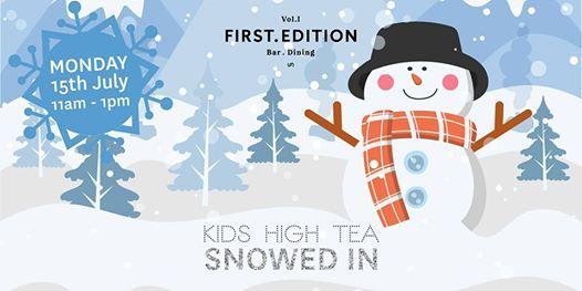 Kids High Tea - Snowed In