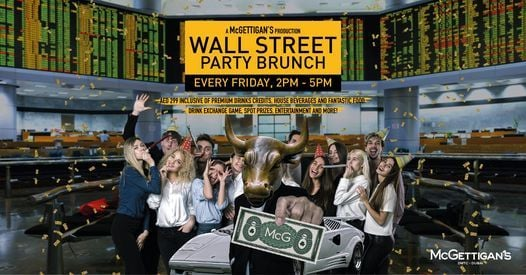 Wall Street Party Brunch, 14 May | Event in Dubai | AllEvents.in