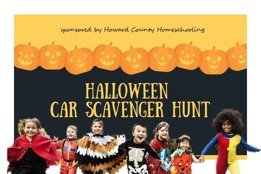 Halloween Events 2020 Near 21043 Halloween Car Scavenger Hunt, Ellicott City Historic District, 30