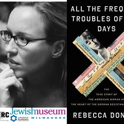 Rebecca Donner and ALL THE FREQUENT TROUBLES OF OUR DAYS - now virtual