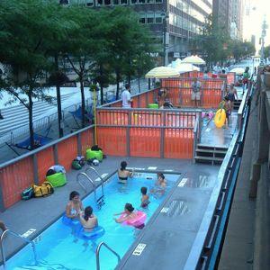 NYC Dumpster Pools Pop Ups