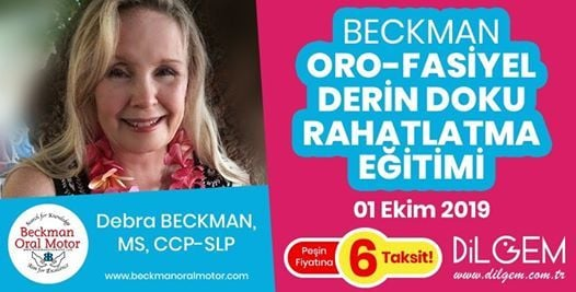 Beckman Oro-Fasiyel Derin Doku Rahatlatma Eitimi