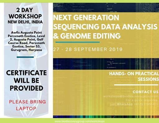 New Delhi | 2 Day Technical Workshop NGS Data Analysis