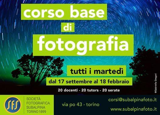 Corso Base di Fotografia Modulo I 20192020