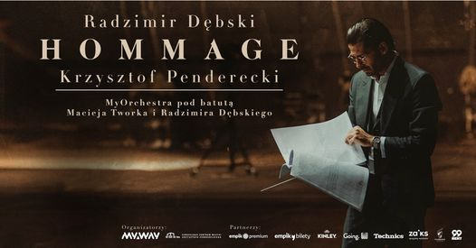 Radzimir Dębski Hommage Krzysztof Penderecki | Wrocław, 12 July | Event in Wroclaw | AllEvents.in