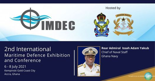 2nd International Maritime Defence Exhibition & Conference, 6 July | Event in Accra | AllEvents.in