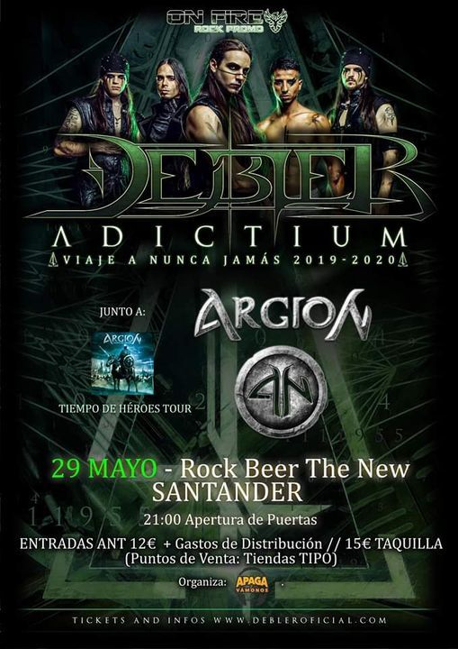 Debler + Argion en Santander, 27 March | Event in Oviedo | AllEvents.in
