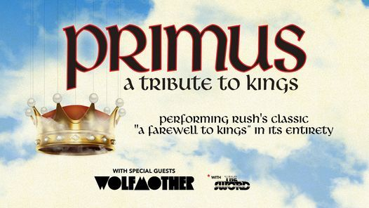 PRIMUS - A Tribute to Kings, 17 September | Event in Cleveland | AllEvents.in