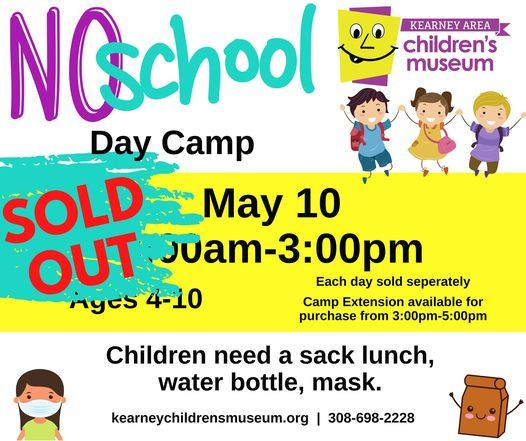 Spring Break! No School Camp, 10 May | Event in Kearney | AllEvents.in