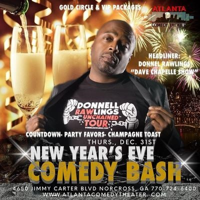 NYE 2021with DONNELL RAWLINGS COMEDY BASH