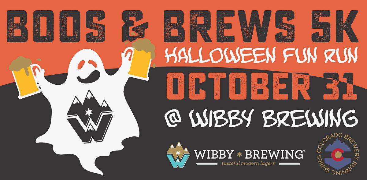 Halloween In Longmont Oct 31 2020 Boos & Brews Halloween 5k   Wibby Brewing | Colorado Brewery