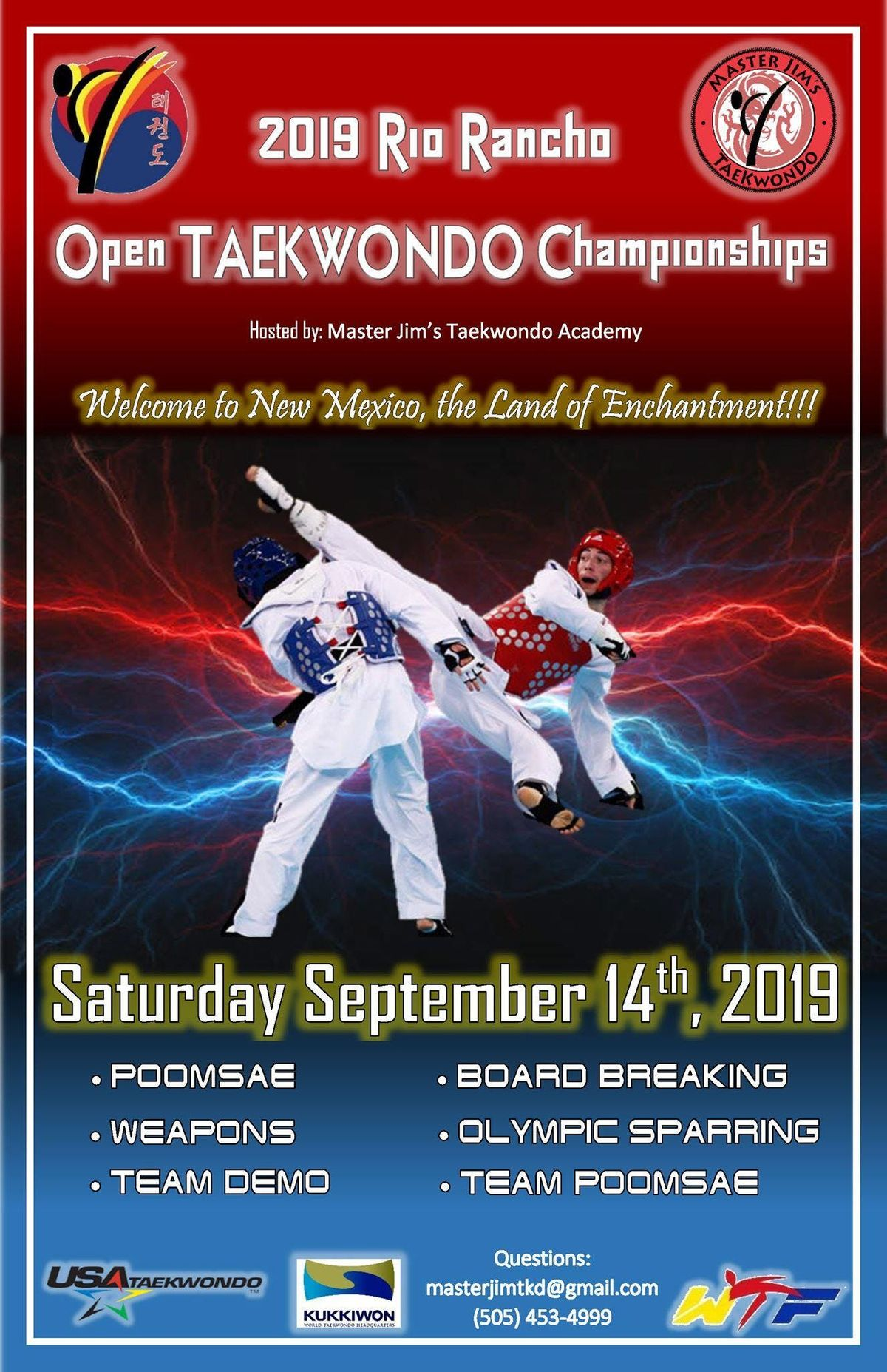 JSKA International Open Karate Championship events in the