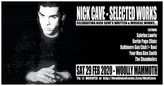 nick cave tour 2020