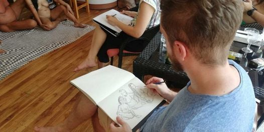 Nude Drawing Day @ Barefeet Bangkok | Event in Bangkok | AllEvents.in