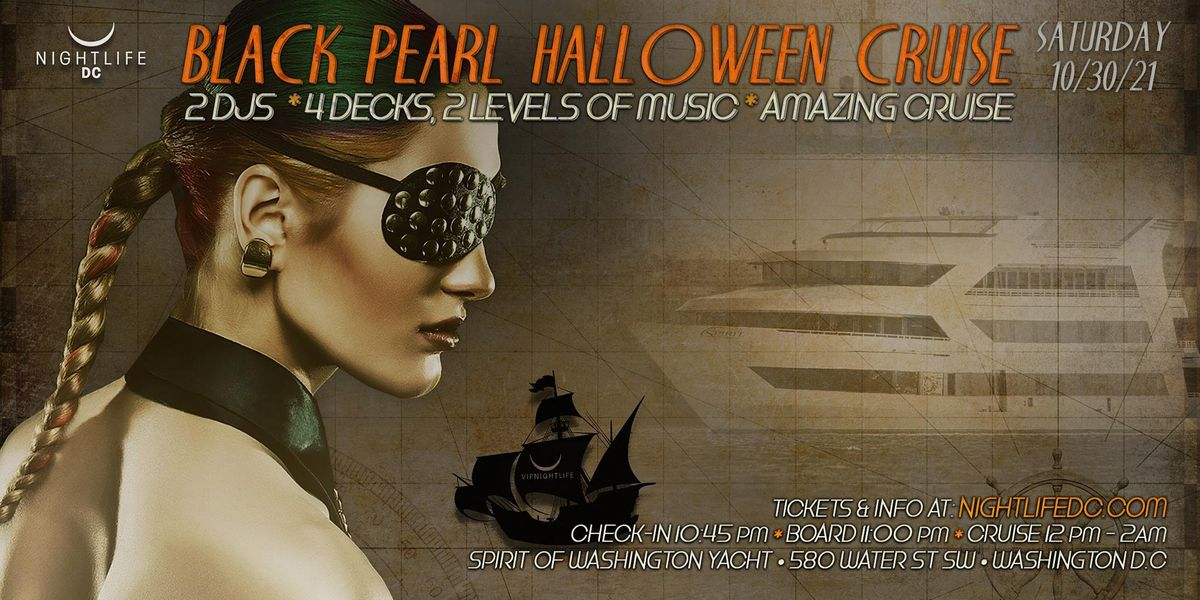 D.C. Halloween - The Black Pearl Yacht Party, 30 October | Event in Washington | AllEvents.in