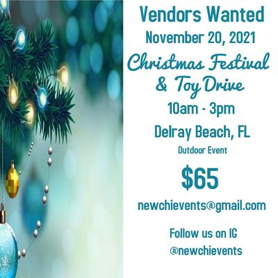 Vendors Wanted