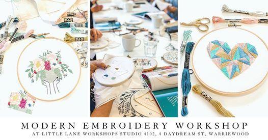 Threadfolk Embroidery Workshop