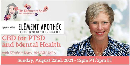 CBD for PTSD and Mental Health with Elizabeth Mack, 22 August   Online Event   AllEvents.in