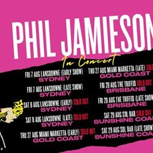 SOLD OUT Phil Jamieson  Sydney NSW (LATE SHOW)