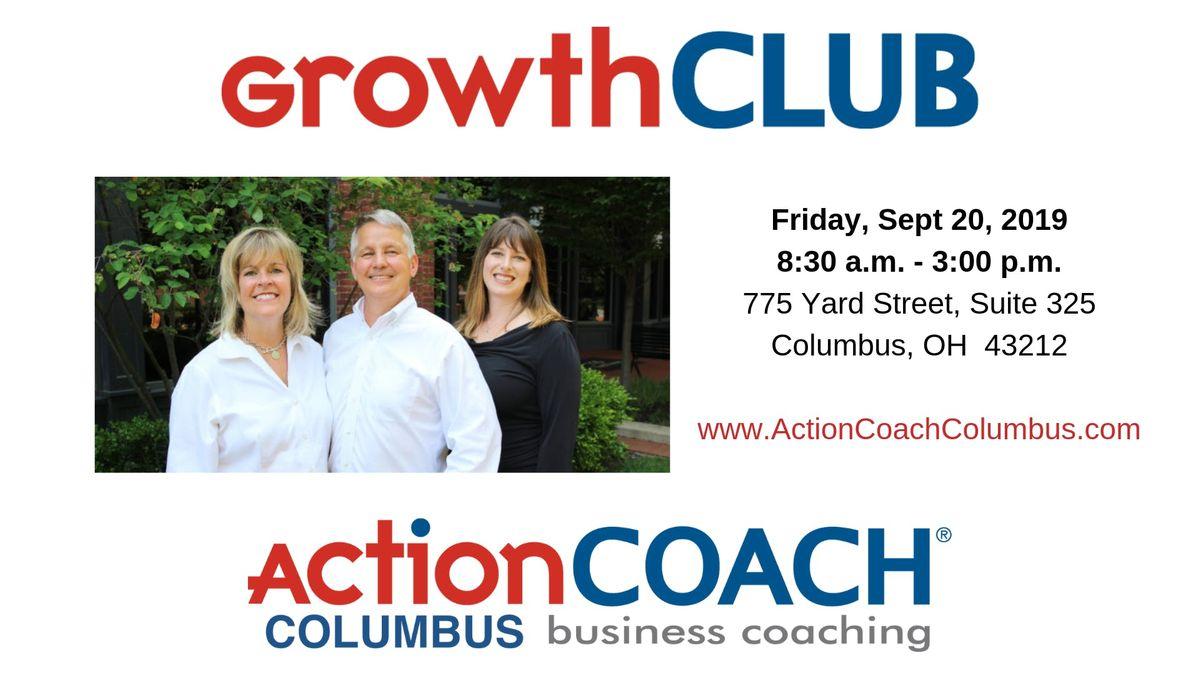 GrowthCLUB Workshop on 92019