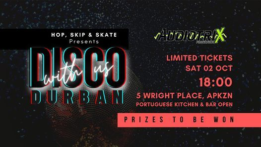 Disco with us Durban - Roller Disco, 2 October | Event in Durban | AllEvents.in