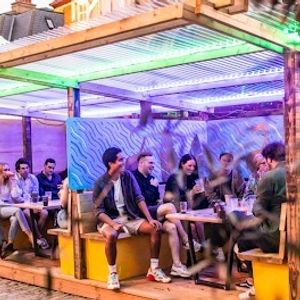 Brixtons Outdoor Party Bar With Live DJs And Street Food