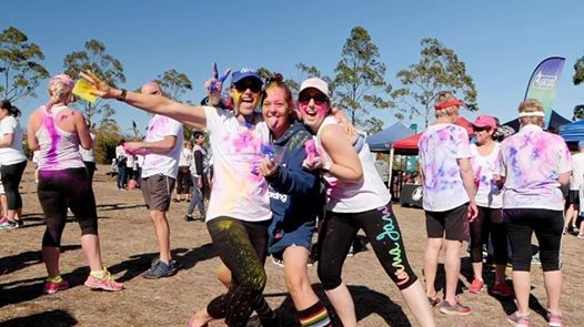 Hobart 5k Colour Frenzy