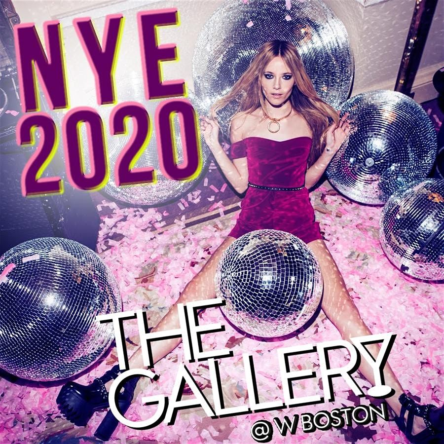 New Years Eve at The W Hotel inside The Gallery Bar ...