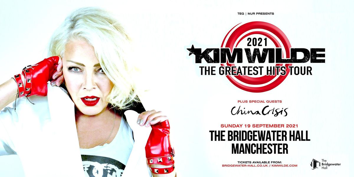 Kim Wilde - Greatest Hits Tour (Bridgewater Hall, Manchester), 19 September | Event in Manchester | AllEvents.in