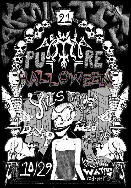 Making Time PURE HALLOWEEN™ with Yves Tumor & Dave P., 29 October | Event in Philadelphia | AllEvents.in