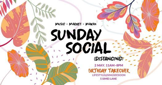 Sunday Social Distancing, 2 May | Event in Singapore | AllEvents.in