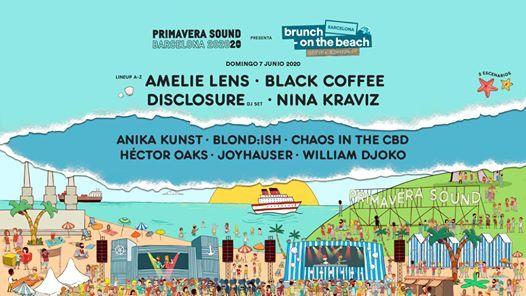 Brunch -On the Beach Amelie Lens Black Coffee Disclosure