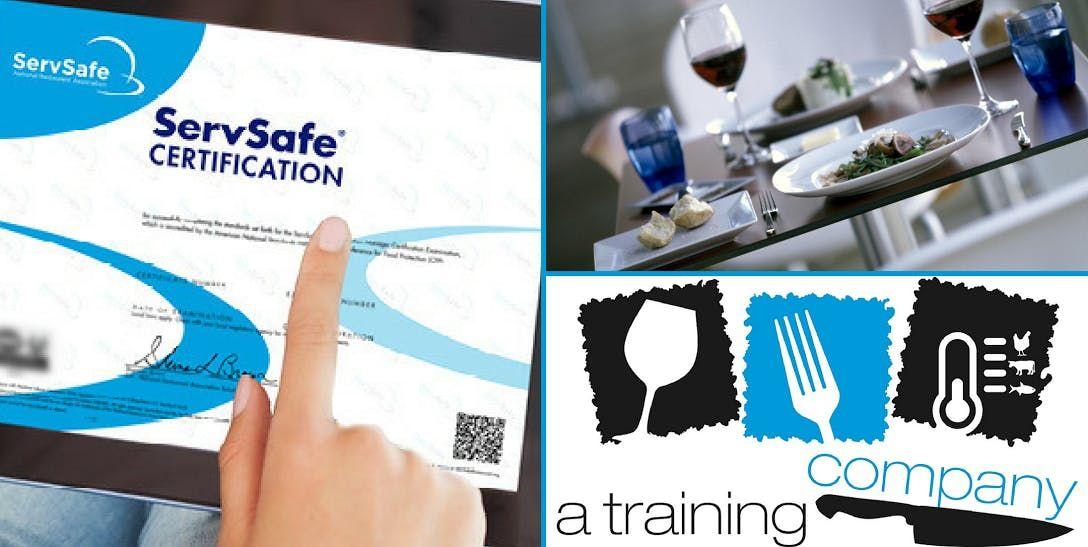 COLUMBUS OH ServSafe Food Manager Certification Training  Exam-2 DAYS