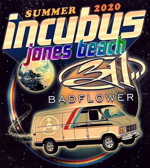 Incubus / 311 & Badflower - Our Love, 12 July | Event in Massapequa | AllEvents.in