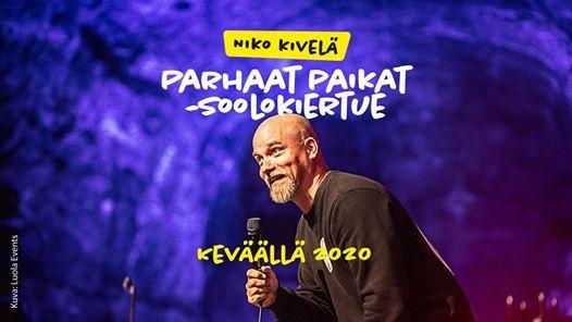 Juko Comedy Club Niko Kivel (siirtyy syksylle 2020)