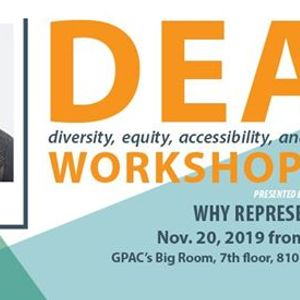 Why Representation - DEAI Lunch and Learn