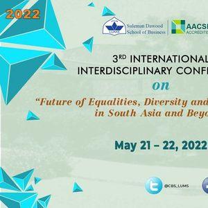 3rd International Interdisciplinary Conference