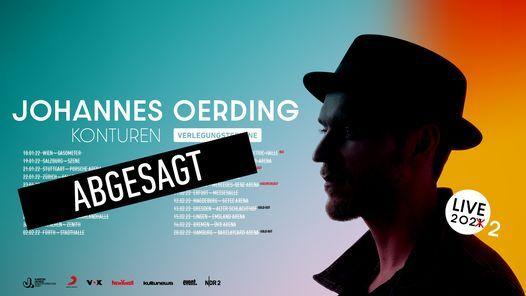 Johannes Oerding • Szene Salzburg, 19 January | Event in Salzburg | AllEvents.in