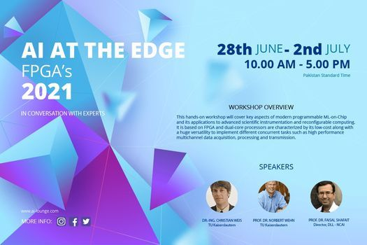 AI AT THE EDGE (FPGA's), 28 June | Event in Abbottabad | AllEvents.in