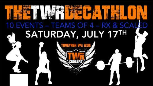 THE TWR DECATHLON, 17 July | Event in Noblesville | AllEvents.in